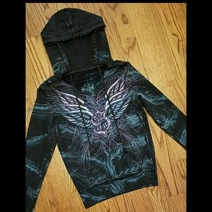 Sinful by Affliction Tie-Dye Hoodie